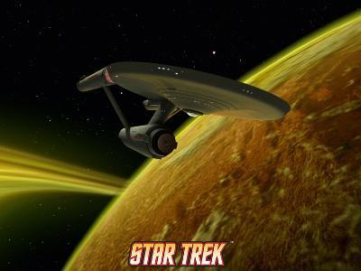 Star Trek: The Original Series, Starship near Planet