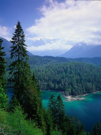 Sonnenspitze & the Wetterstein, Tyrol, Austria