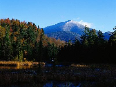Early Snow on Whiteface Mountains, Adirondack St. Park