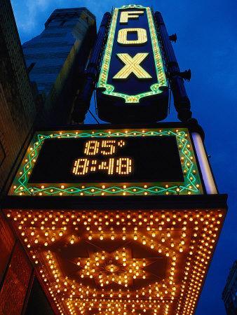 Fox Theater Entrance and Marquee, Atlanta, GA