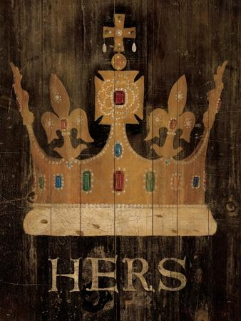 Her Majesty's Crown with word