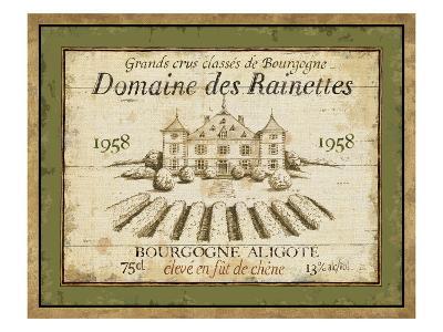 French Wine Label III