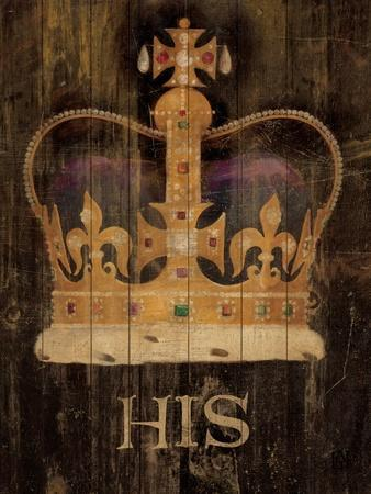 His Majesty's Crown with word