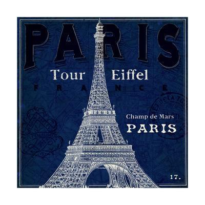 Blueprint Tour Eiffel
