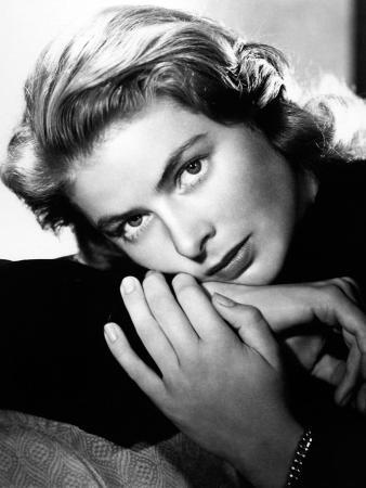 "Ingrid Bergman. ""Notorious"" 1946, Directed by Alfred Hitchcock"