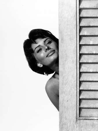 """Sophia Loren. """"Houseboat"""" 1958, Directed by Melville Shavelson"""