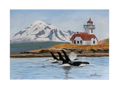 Patos Lighthouse and Orcas