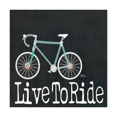 Live to Ride on Black