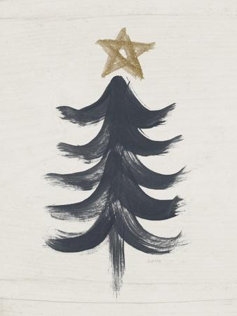 Black and Gold Tree I