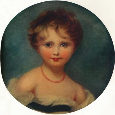 Portrait of Lady Emily Cowper, C1815, (1913)