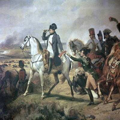 Napoleon at the Battle of Wagram, 19th Century