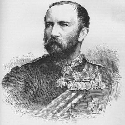 Major General Sir Henry Evelyn Wood, Vc, Kcb, British Soldier, 1884