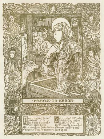 Design for a Christmas Carol, C1898