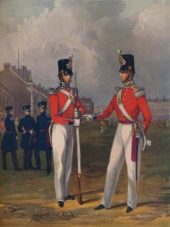 The Hon. Artillery Company-Officer and Private, 1848, (1914)