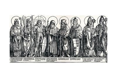 The Patron Saints of Austria, 1515