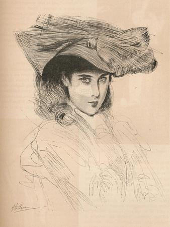 Portrait of the Artists Daughter, C1879-1903, (1903)
