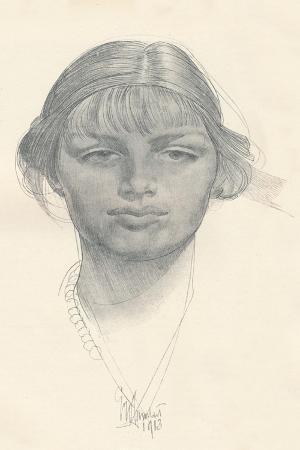 The Fair Girl, C1914. Artist: George Washington Lambert