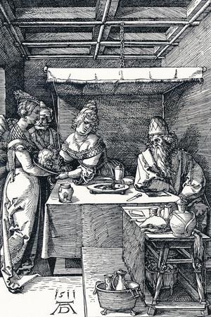 Salome Presenting the Head of St John the Baptist to Herodias, 1511