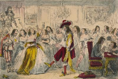 Evening Party - Time of Charles Ii, 1850