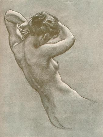Study for Prospero Summoning Nymphs and Deities, C1902, (1903)