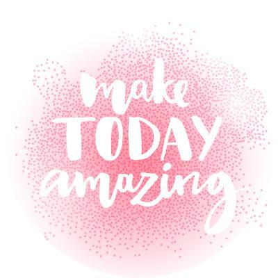 Inspirational Quote, Unique Brush Lettering for Posters, T-Shirts and Social Media Content. Make To