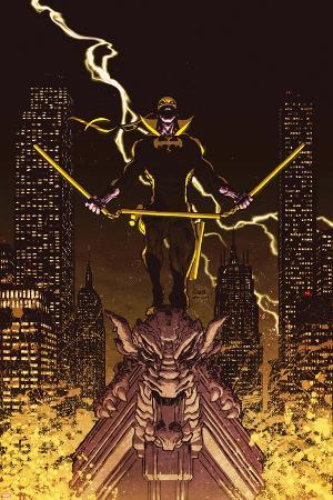 Iron Fist: The Living Weapon No. 12 Cover