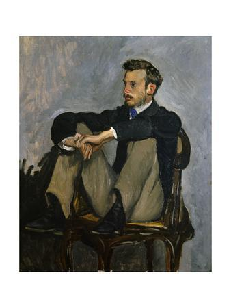 Portrait of Auguste Renoir 1867