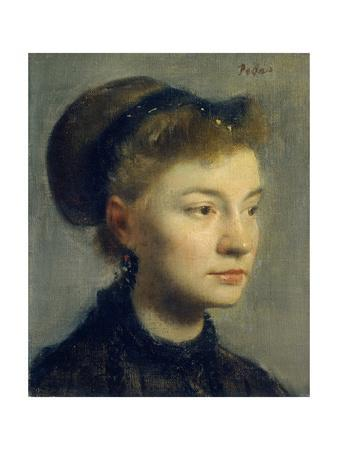 Portrait of a Young Woman. 1867