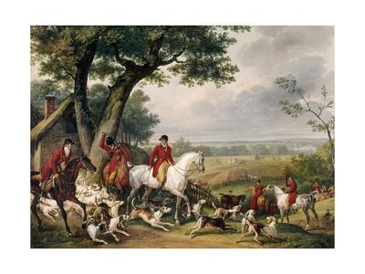 Hunting in Fontainebleau Forest
