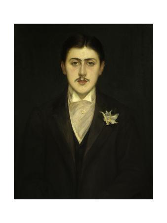 Portrait of Marcel Proust