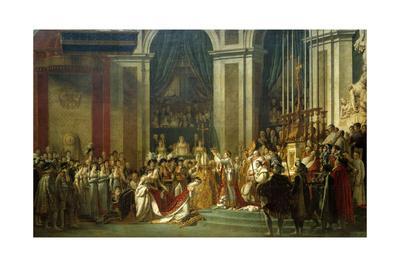 Coronation of Empress Josephine on Dec. 2, 1804