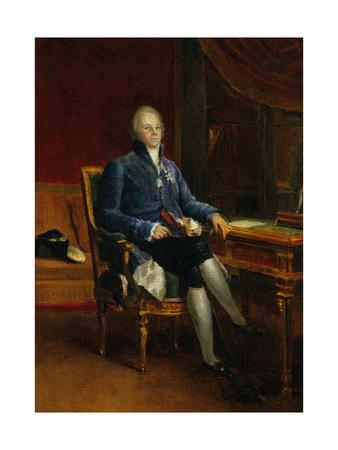 Portrait of Charles Maurice De Talleyrand Perigord, Prince of Benevent, 1808