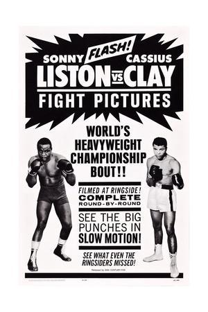 World Heavyweight Championship Bout: Charles 'Sonny' Liston Vs. Cassius Clay