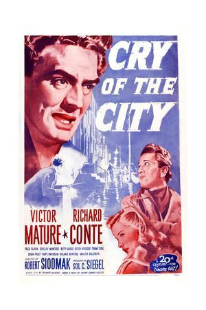 Cry of the City, Victor Mature, Richard Conte