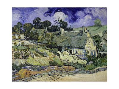 Thatched Cottages at Cordeville, Auvers-Sur-Oise, 1890