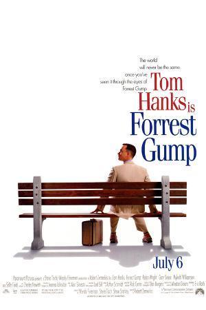 Forrest Gump Tom Hanks on Bench