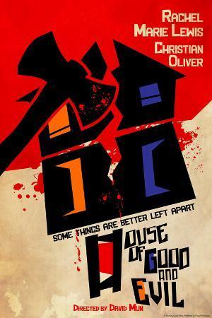 House of Good & Evil Retro Movie Poster