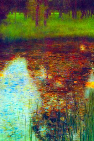Gustav Klimt The Marsh