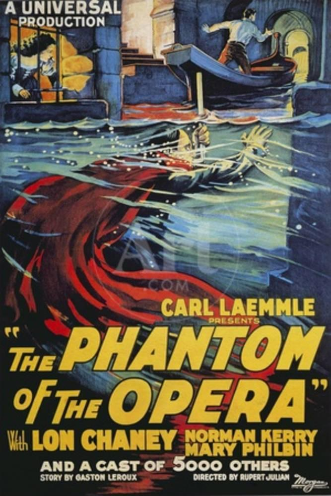 The Phantom of the Opera Movie Lon Chaney 1925 Poster at AllPosters.com