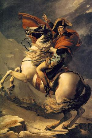 Jacques-Louis David (Napoleon exceed the great St. Bernard Pass)