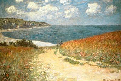 Path Through the Corn at Pourville Claude Monet
