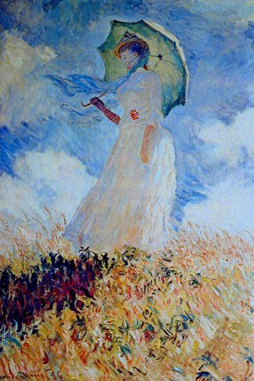 Claude Monet Lady With Umbrella