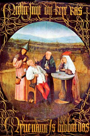 Hieronymus Bosch The Healing of Madness The Stone Operation