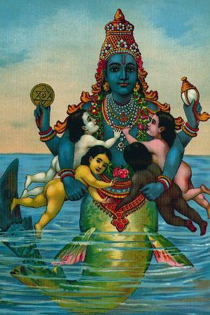 Matsya Avatar of Vishnu