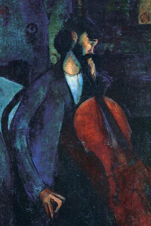 Amadeo Modigliani The Cellist