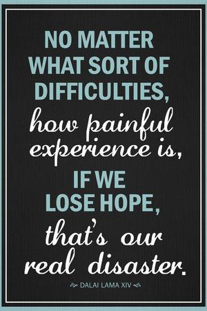 Dalai Lama Hope Quote Motivational