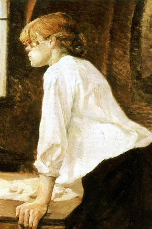 Henri de Toulouse-Lautrec The Laundress