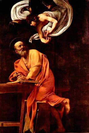 Michelangelo Caravaggio St Matthew and the Angel
