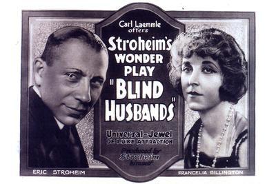 Blind Husbands Movie Sam De Grasse Francelia Billington