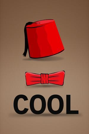 Fez and Bowtie Cool